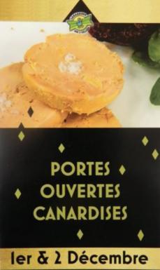 Portes Ouverte Canardises 1 et 2 décembre 2018